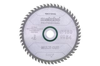 "Metabo Sägeblatt ""multi cut - professional""230x2,6/1,8x30Z60 WZ 5°"
