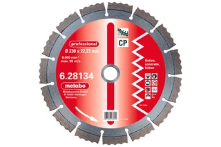 "Metabo Diamant-Trennscheibe150 x 2,15 x 22,23 mm""professional""""CP""Beton"