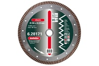 "Metabo Diamant-Trennscheibe115 x 2 x 22,23 mm""classic""""UC-T""TurboUniversal"