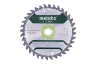 "Metabo Sägeblatt ""cordless cut wood - classic""165x1,6/1,0x20 Z18 WZ 20° /B"