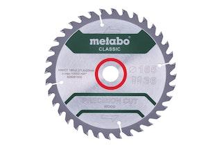 "Metabo Sägeblatt ""precision cut wood - classic""165x2,2/1,4x20 Z36 WZ 15° /B"