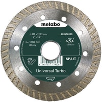 "Metabo Diamanttrennscheibe 125x22,23mm""SP-UT""Universal Turbo ""SP"""