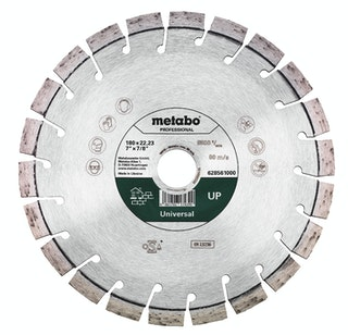 "Metabo Diamanttrennscheibe 180x22,23mm""UP""Universal ""professional"""