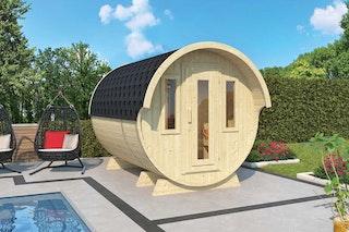 Wolff Finnhaus Saunafass 330 de luxe