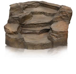Oase Bachlaufschale Premium Grand Canyon schiefer braun, Klippe
