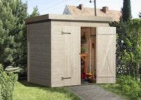 Weka Gartenhaus 344 - 14 mm