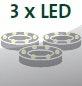 Inklusive 3 LEDs