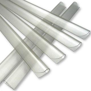 Noor Klemmschienen für Zaunblende Textil und Zaunblende PVC blickdicht 25er Set