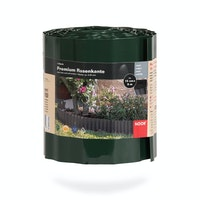 NOOR Rasenkante Premium Grün 15 cm x 9 lfm grün/ Rolle