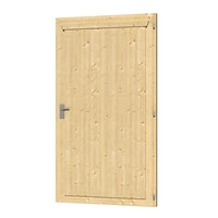 Skan Holz Einzeltür für Carports