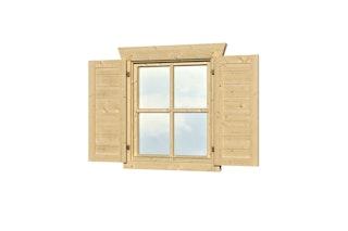 Skan Holz Fensterläden für Gartenhäuser (nicht für Gartenhaus Lagos)