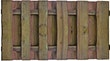 T&J SEELAND-Serie Sichtschutz 1800 x 900 mm