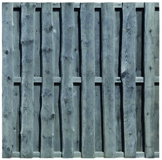 T&J FALSTER Sichtschutz Kiefer/Fichte druckimprägniert grau 1800 x 1800 mm