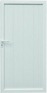 T&J TRENDLINE Kunststoff Sichtschutz Tür DIN Links 100x180
