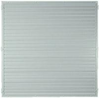 T&J LIGHTLINE Kunststoff Zaunelement 1800 x 1800 mm