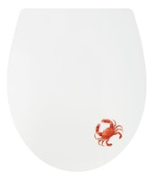 Sanitop WC-Sitz Dekor DP SSK kleine Krabbe Top Fix