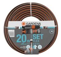 """Gardena Comf. FLEX Schlauch 9x9 13mm 1/2"""" 20m mS"""