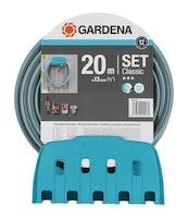 Gardena Wandschlauchhalter + 20m Classic E10