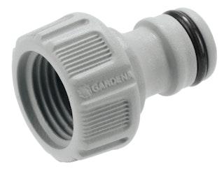 "Gardena Hahnverbinder 21mm (G 1/2"") verpackt"
