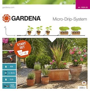 Gardena MDS Start-Set Pflanztöpfe M
