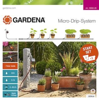 Gardena MDS Start-Set Pflanztöpfe M m. Automatik