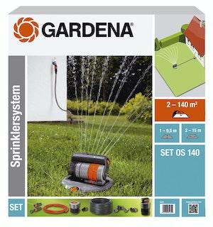 Gardena Sprinklersystem Komplett-Set mit OS 140
