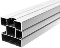 T&J ECOSTECK Aluminium-Pfosten