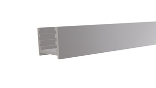 T&J Aluminium-Wandprofil inkl. Abstandshalter