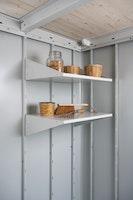 Regalböden tief für Biohort Gerätehaus Neo (2 Stück)