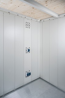 Biohort Elektro-Montagepanel für Gerätehaus Neo