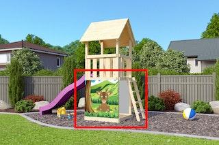Akubi Plane zur Verkleidung von 3 Turmseiten des Kinderspielturms (Aktionsartikel)