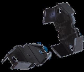 Distanzkeil für PVC Rinnenhalter, RG70 Typ 200 braun