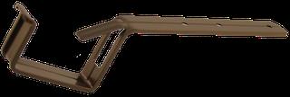 Rinneneisen Alu, RG70 Typ 200 braun