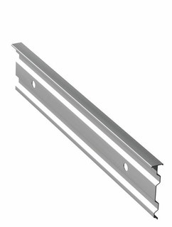 Aluminium Wandanschlussprofil