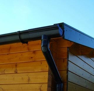 Kunststoff Dachrinnenset 383A für Pavillons (6 Ecken)