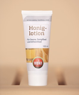 Weka Honig-Lotion für weiche & geschmeidige Haut