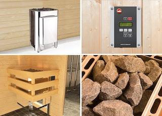 """Weka Saunaofen Spar-Set """"Profi"""" 11 kW (für gewerbliche und private Nutzung)"""
