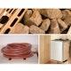 Weka Saunaofen-Set 10 inkl. 5,4 kW Kompakt-Ofen, Anschlusskabel, Saunasteine, integrierte Steuerung