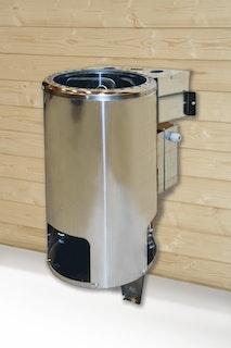 Weka Saunaofen BioAktiv mit Dampfbad-Funktion rund 3,6 kW 230 Volt