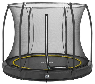 Salta Trampolin Comfort Edition Ground mit Sicherheitsnetz