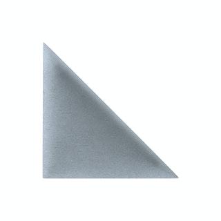 Mollis Polsterpaneel Silbergrau  30x30 cm Dreieck