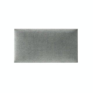 Mollis Polsterpaneel Grau  30x15 cm