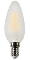 Shada  LED Glühlampe C35 E14 4.5W 470LM 2700K matt nicht dimmbar 360°