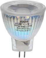 Shada  LED Strahler MR11 GU4 3W 240LM 3000K Glas nicht dimmbar 12V