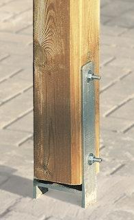 Weka H-Anker für Treseneingang (1 Stück 9 x 9 cm)