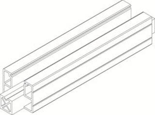 Osmo Flex-Fence Start-/Abschlussprofil