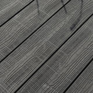 OSMO MULTI-DECK BPC-Terrassendiele Vollprofil GRAU-Vintage oder glatt