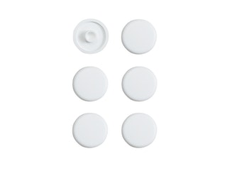 Sanitop WC-Sitz Puffer Nr. 43, Kunststoff, weiß