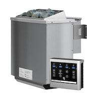 Karibu 4,5 kW Bio-Kombiofen Saunaofen inkl. Steuergerät EASY weiß - Sparset