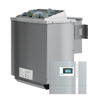 Karibu 4,5 kW Bio-Kombiofen Saunaofen inkl. Steuergerät Premium - Sparset
